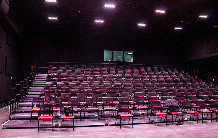 Redhouse Arts Center Seating