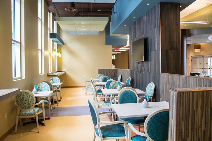 Van Duyn Dining Area