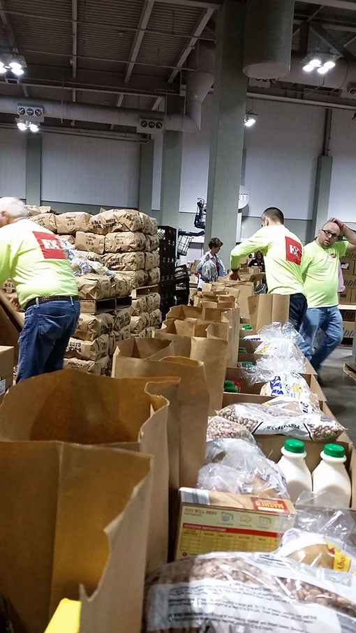 Salvation Army Distribution Day 2018