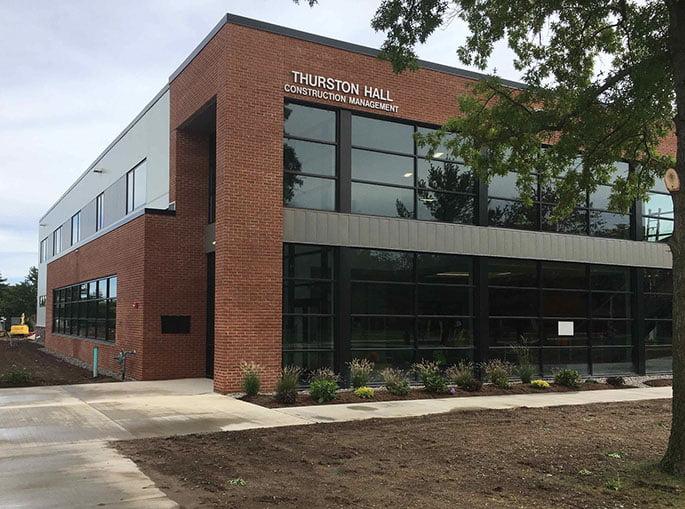 Utica College dedicates Thurston Hall