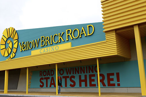 Yellow Brick Road Casino Wows and Excites the Public During Successful Grand Opening Celebration