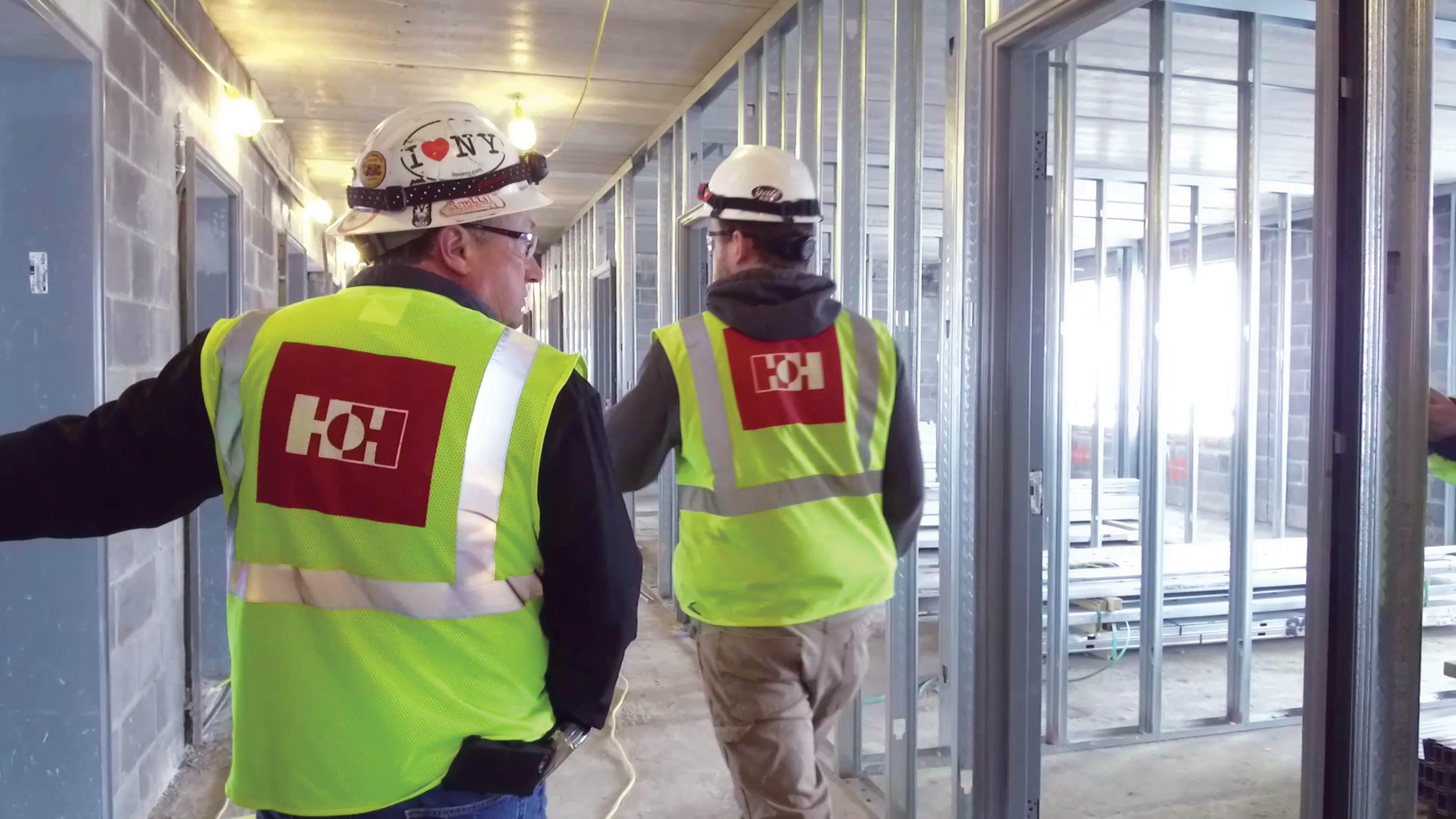 Interior Building Construction