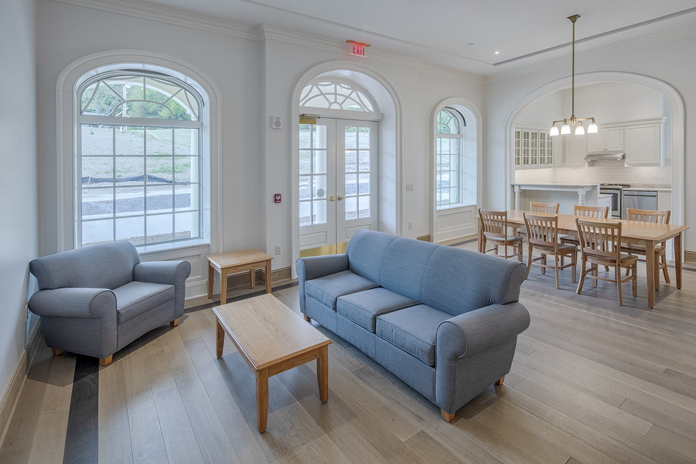 Colgate University Residence Halls Interior Room