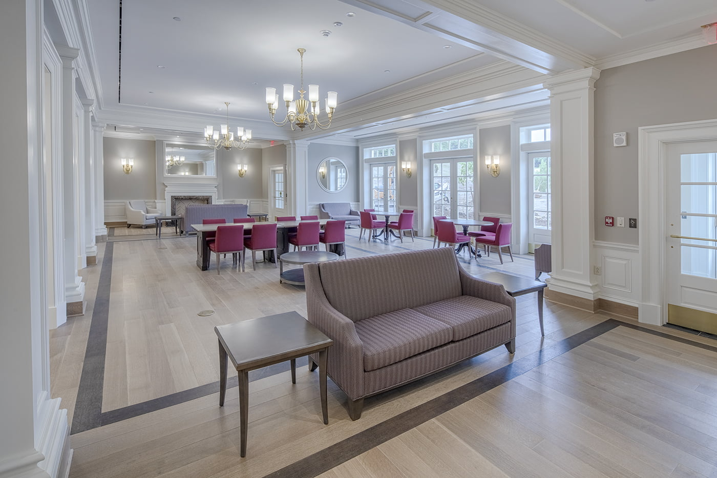 Colgate University Residence Halls Interior