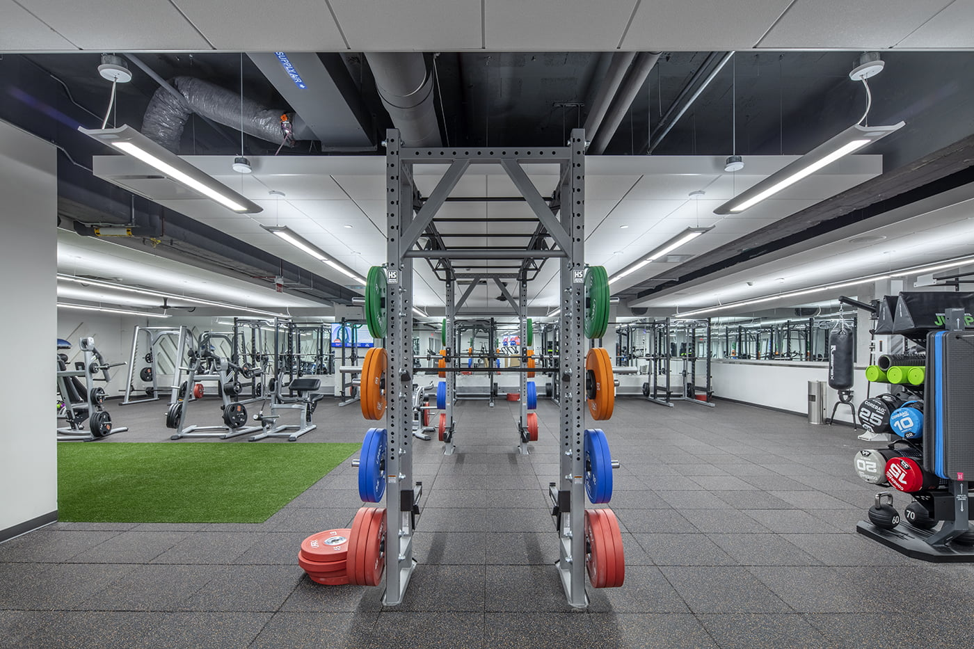The Barnes Center at the Arch Gym