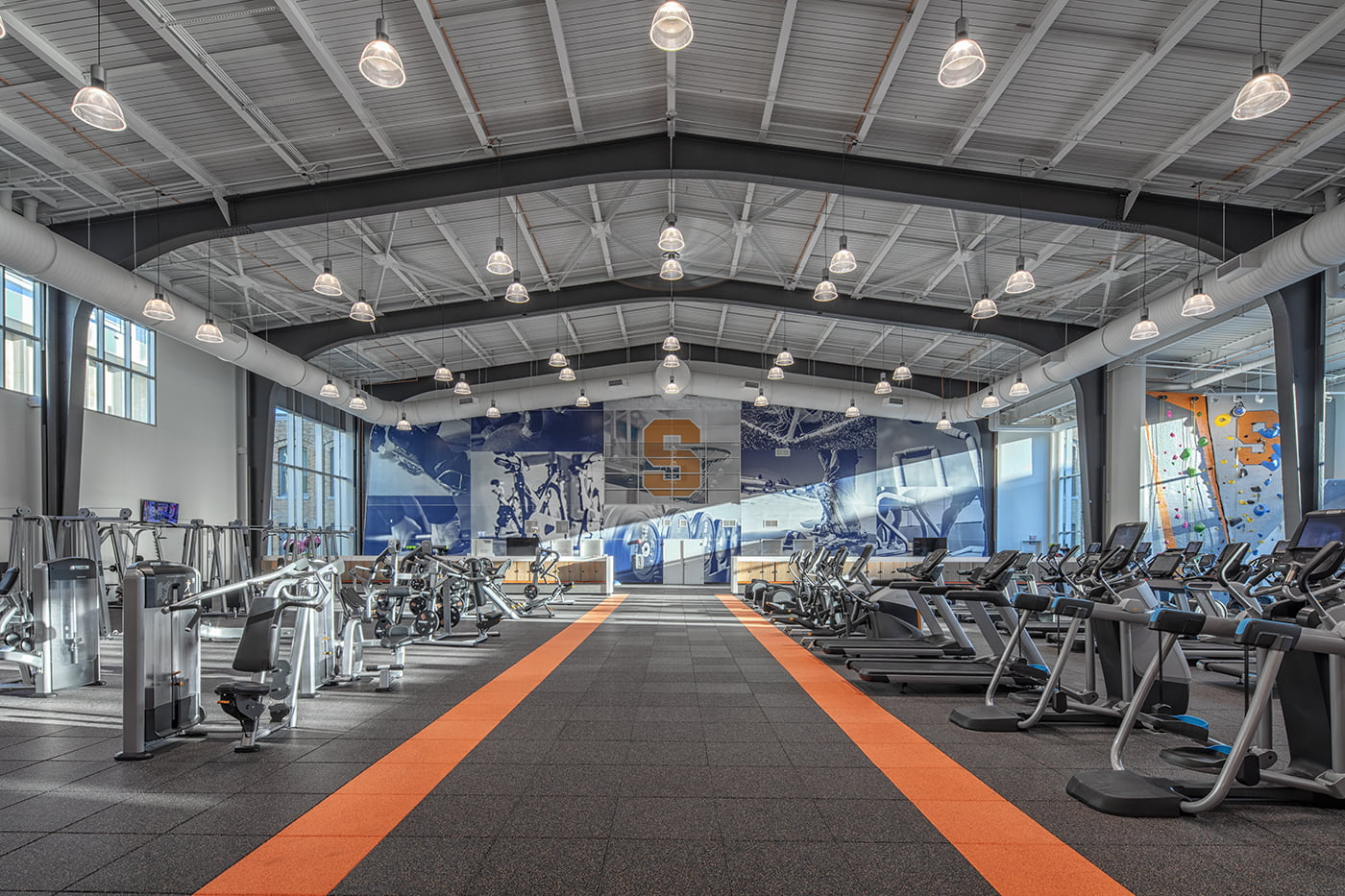The Barnes Center at the Arch Workout Center