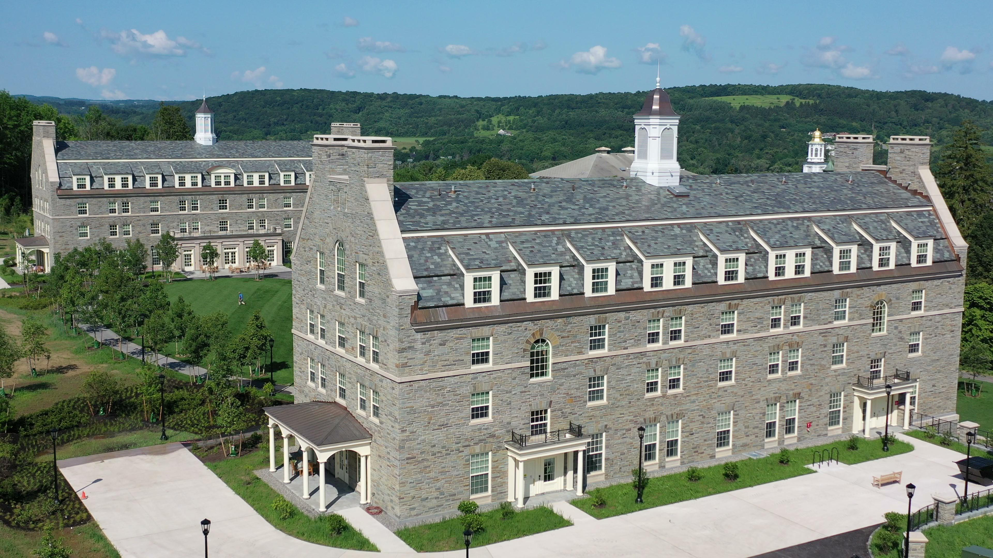 Colgate University Residence Halls Exterior