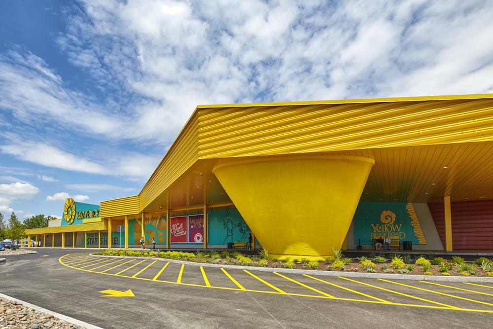 Yellow Brick Road Casino Exterior