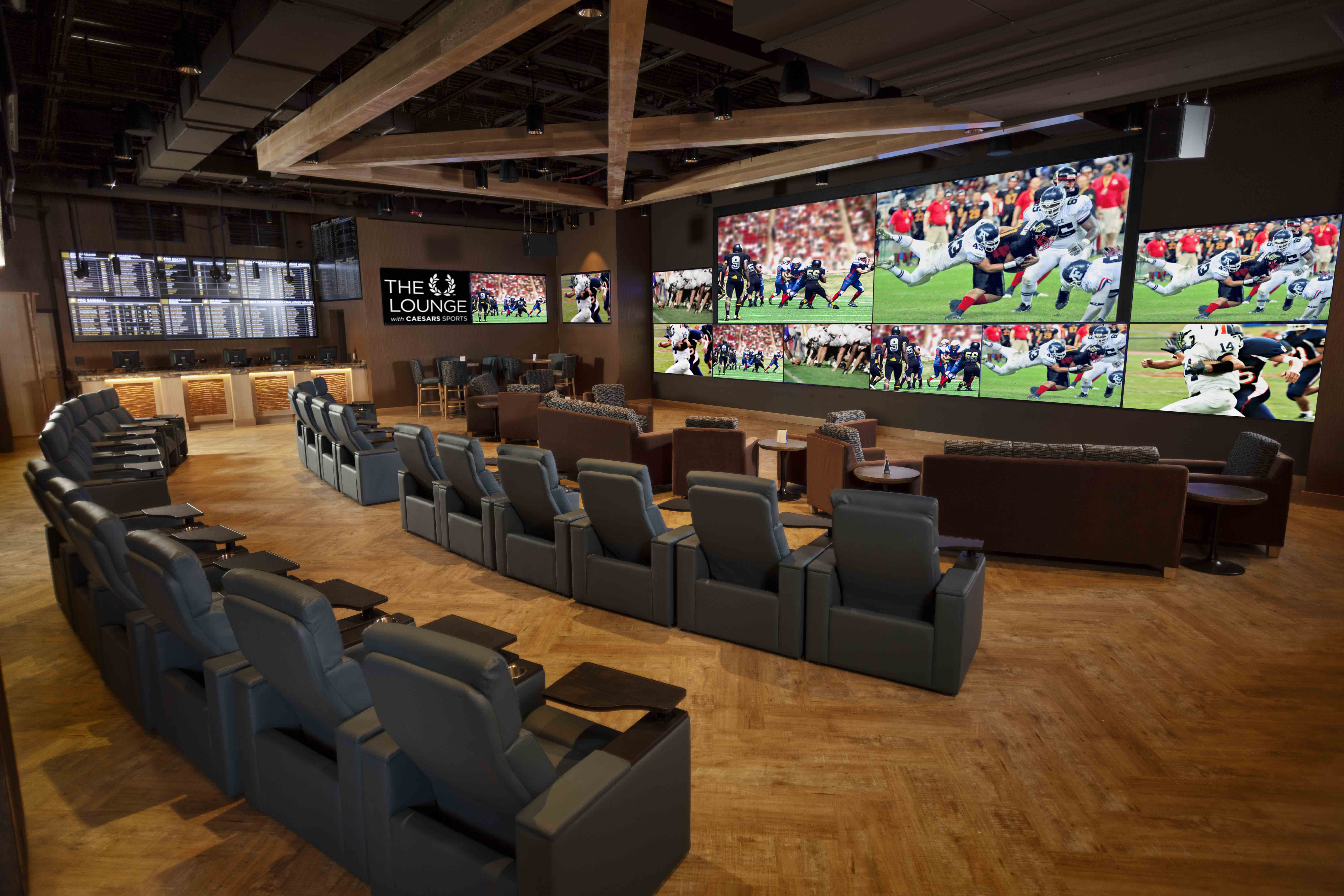 Sports Betting Opens at Turning Stone and Point Place Casino
