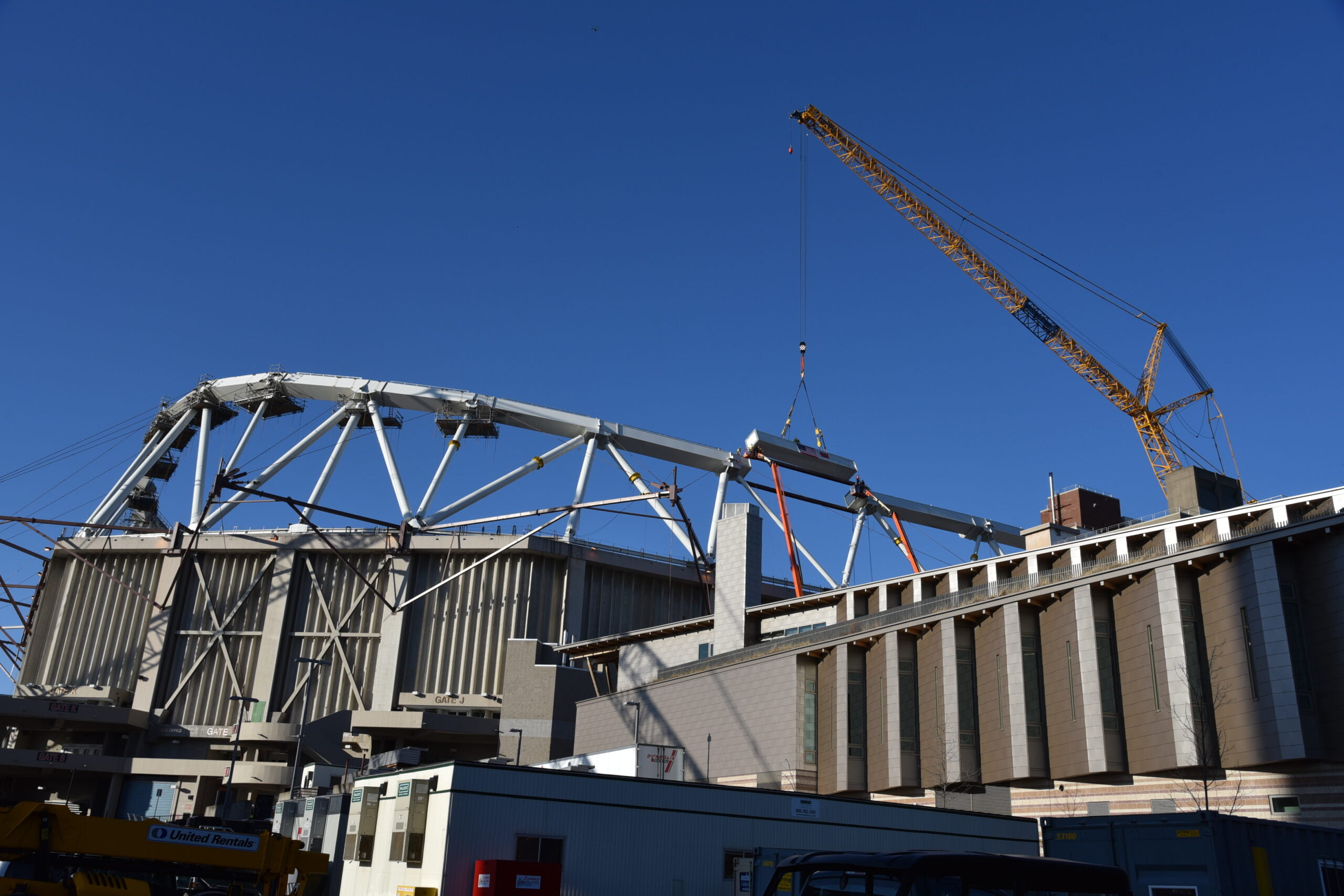 Topping Out at The Carrier Dome