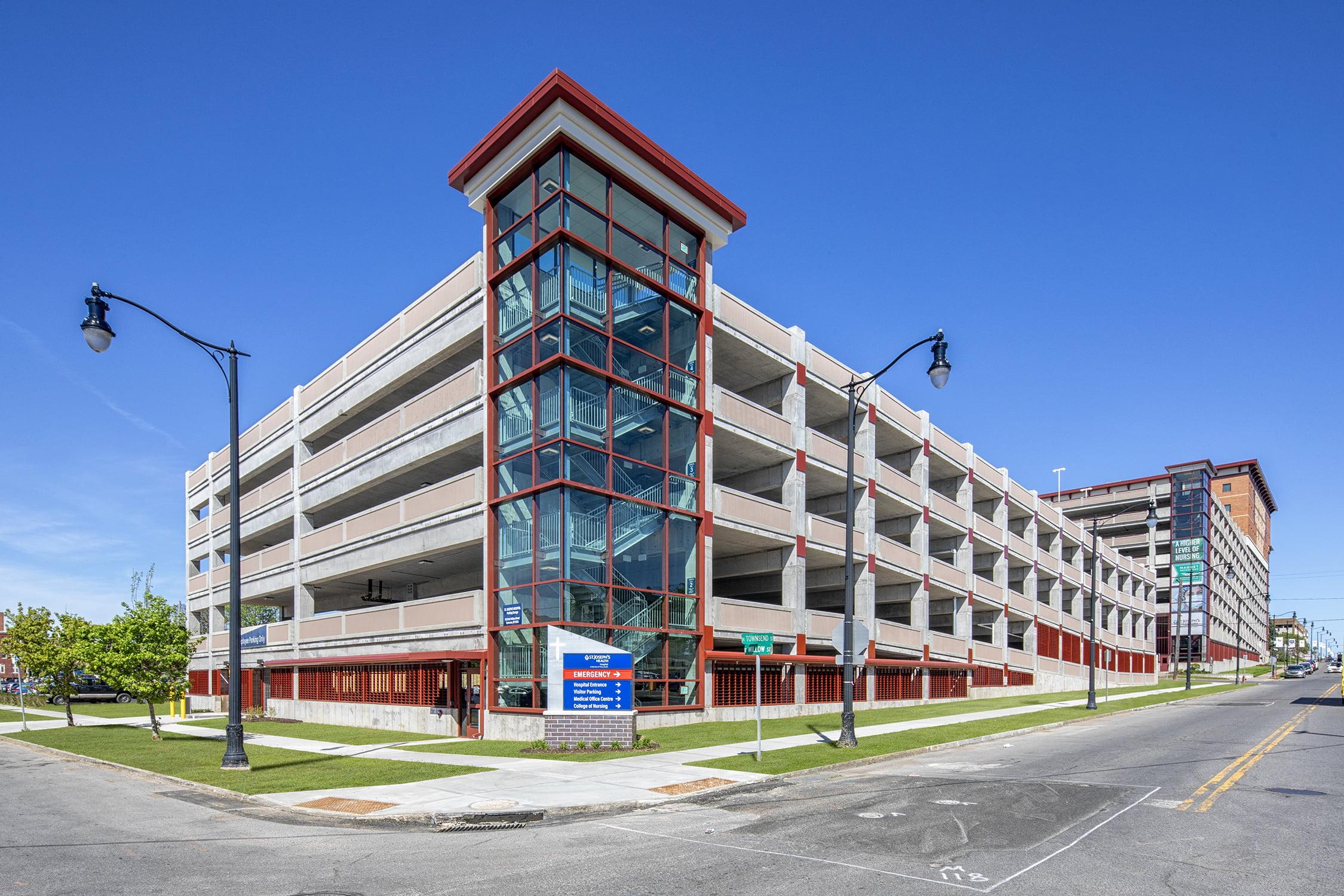 St. Joseph's Health Parking Garage is Complete