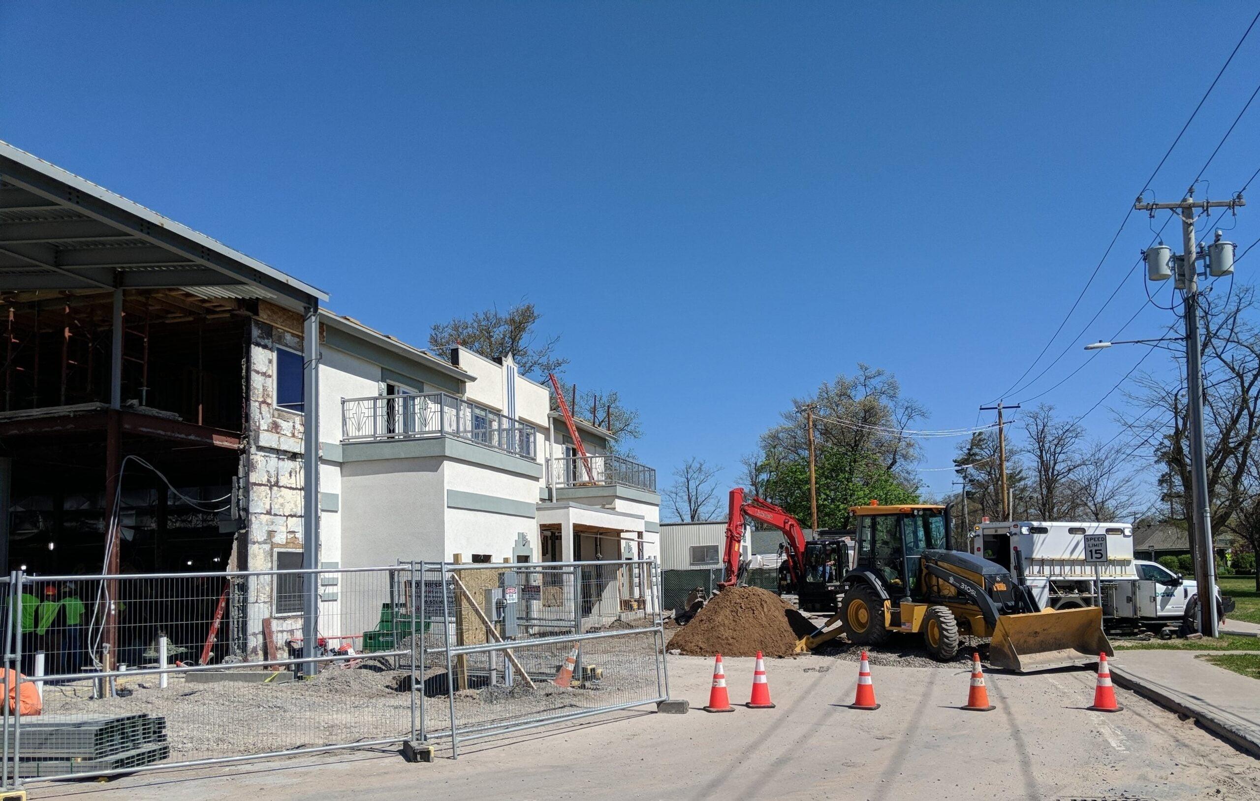 Construction resumes at The Lake House at Sylvan Beach