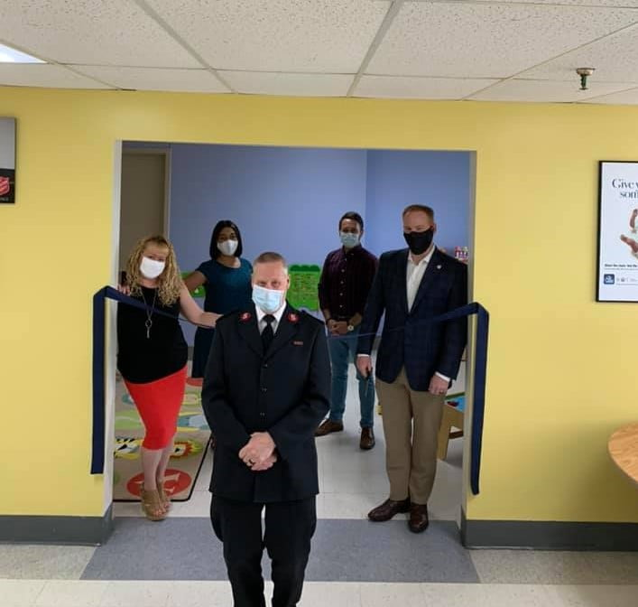 Emergency Family Shelter Gets a Face Lift
