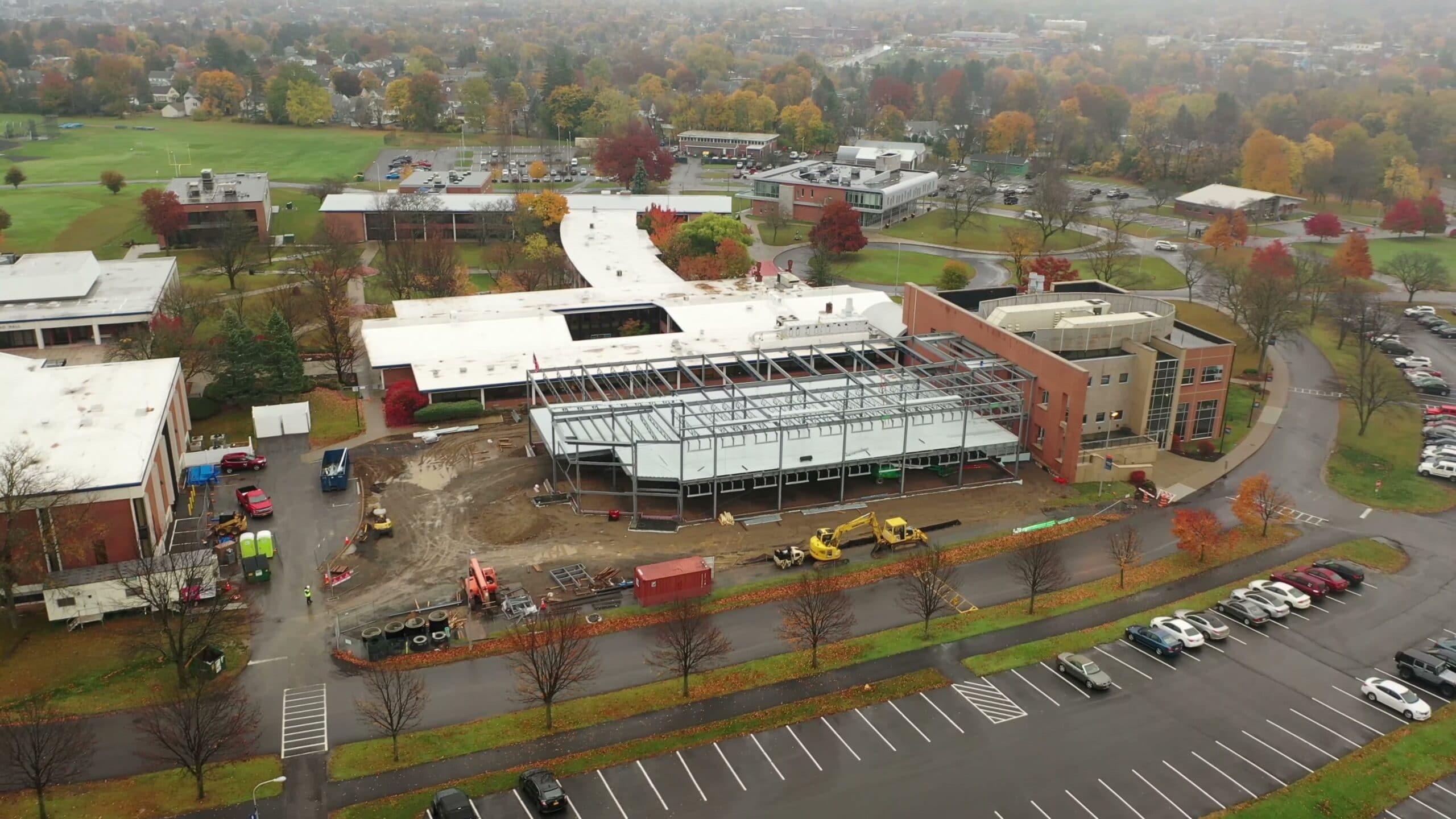 Gordon Science Center Progress