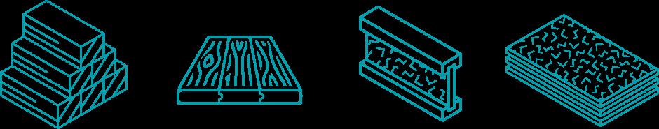 Lumber Wrap Icons
