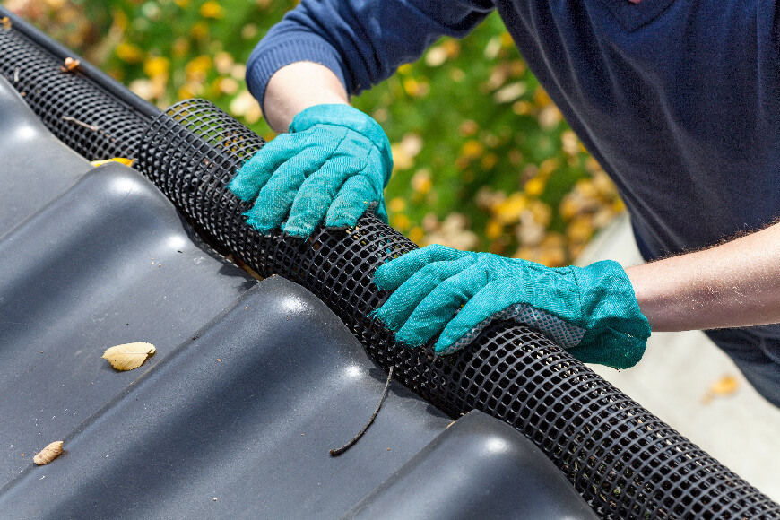 Gutter Leaf Screens & Extension Installation Services Dallas TX