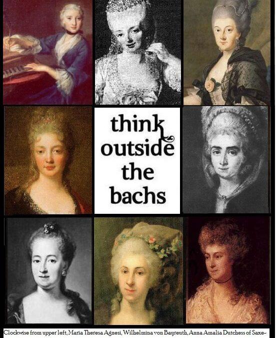 Beyond Mrs. Bach