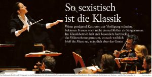 A View from Germany: Classical Music is so Sexist