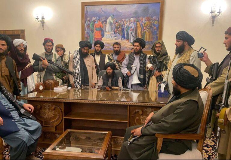 The Taliban-Afghan coup