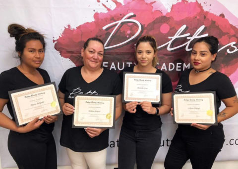 Graduates from Patty's Beauty Academy