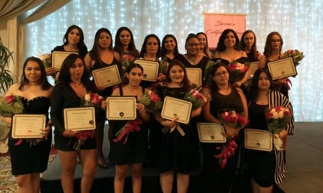 Patty's Beauty Academy Graduates