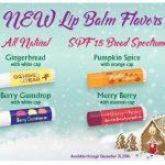 new lip balm flavors