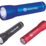 power bank and flashlight