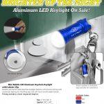 Aluminum LED keylight