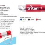 LED slider flashlight