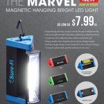 magnetic handing LED light