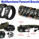 multifunctional paracord bracelet
