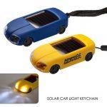 solar car light keychain