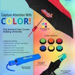 color crown umbrella