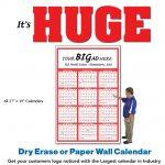 huge wall calendar