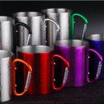 carabiner mugs