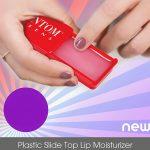 slide top lip moisturizer