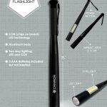 baseball bat shape COB flashlight