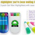 gel wax highlighters