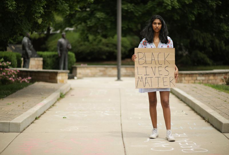 Solo Protestors Take a Stand for Social Justice