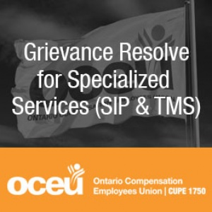 Grievance Resolve for Specialized Services (SIP & TMS)