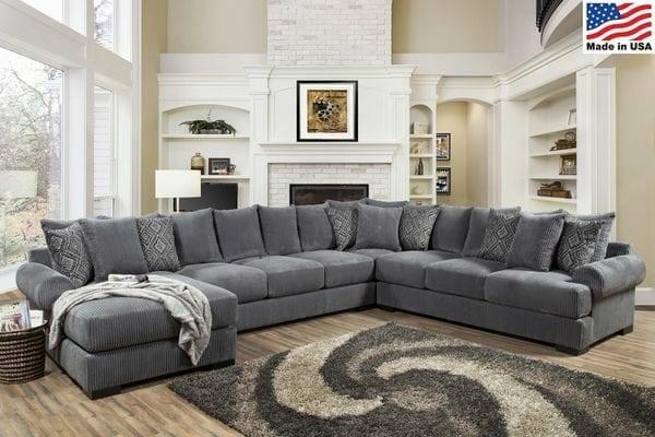 Industries 4pc Memphis Sectional Sofa
