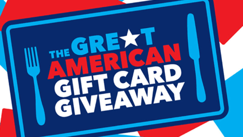 Join the Great American Takeout for Your Chance to win $5,000