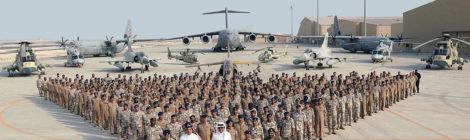 قطر توسع قاعدة العُديد الجوية