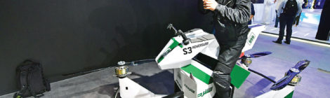 UAE  tests flying motorcycles