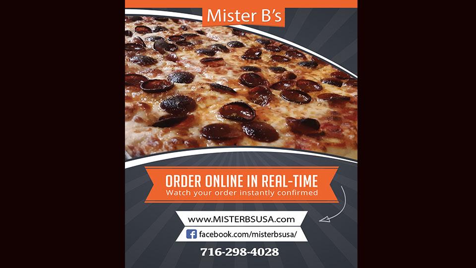 Mister B's Pizzeria Restaurant Pizza Wings Niagara Falls, NY