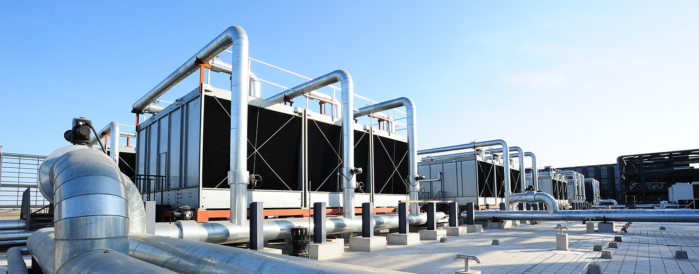 Silver Factory Packaged Cooling Tower Unit - nelson & company llc