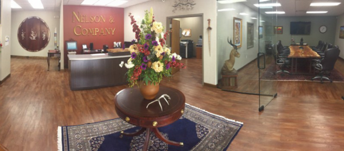 panoramic view of the jacksonville office - nelson & company llc
