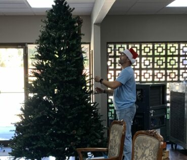 construction of the jacksonville office christmas tree - nelson & company llc