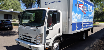 truck with list of hvac manufacturers - nelson & company llc