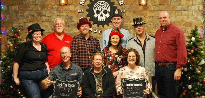 mindbender escape room team - nelson & company llc